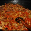 My first recipe for Chinese food – Chicken with peanuts