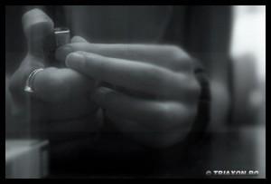 Gestures III - Bored