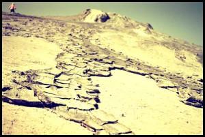 Mud volcanoes Romania - Icelandic volcano eruption