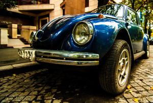 Time traveler - Broscuta Volkswagen Beetle