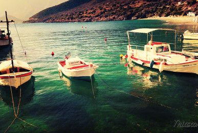 Boats in Arkadia, Plaka, Leonidiou