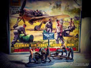 WWII - German Air Force Ground Crew - Zvezda, 1:72 scale